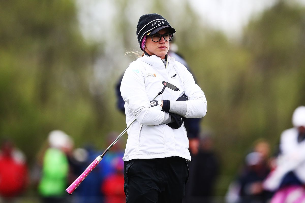 New Zealand Women's Open suspended after tropical-force winds ravage players