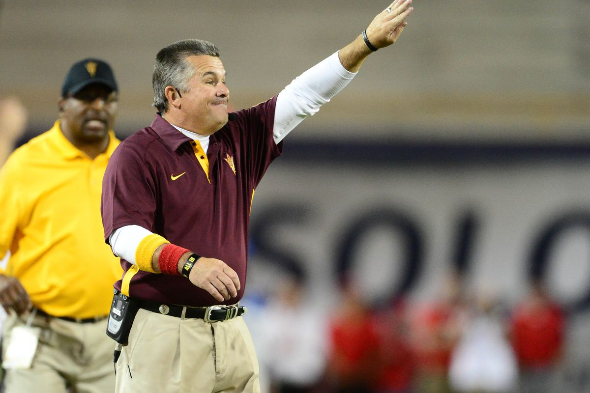 Full speed ahead for Arizona State in their recruiting efforts.