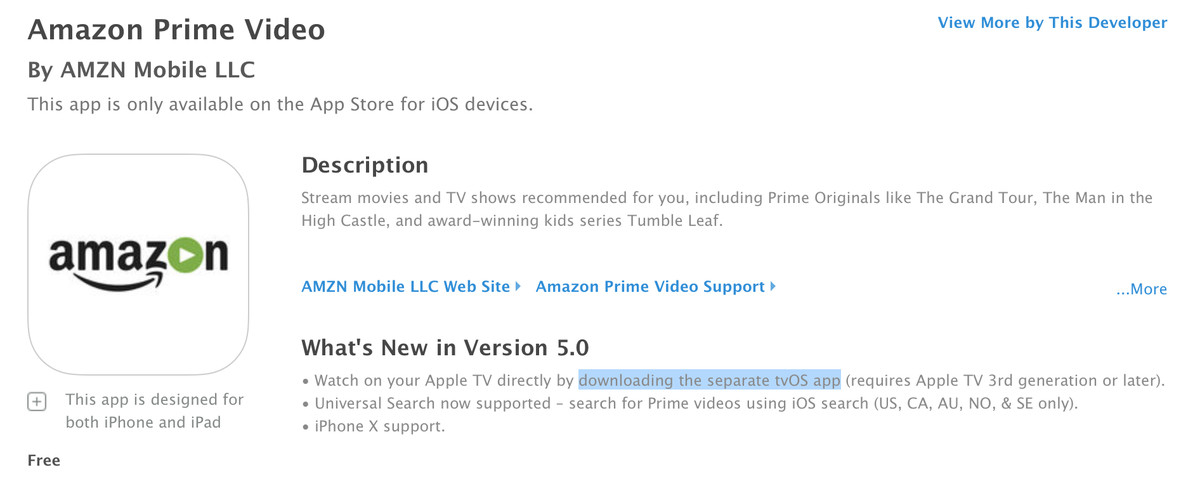Amazon Prime Video comes to Apple TV, finally - The Verge
