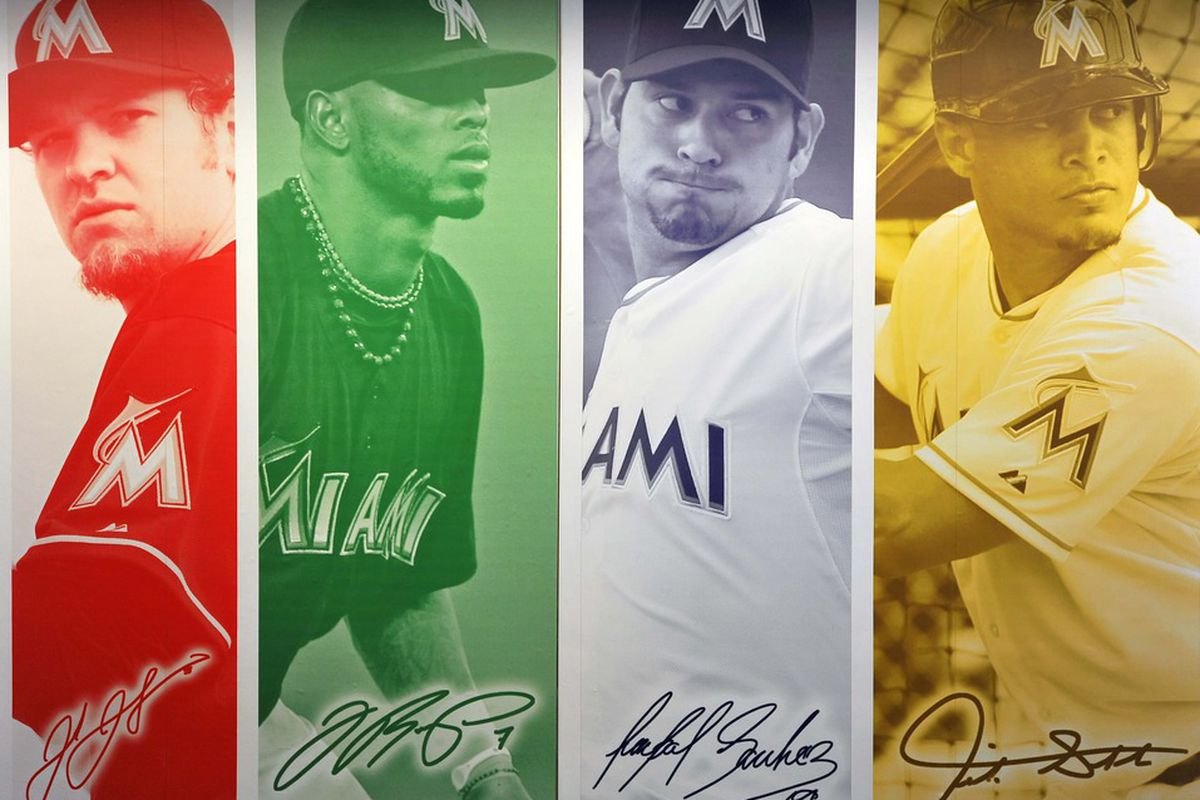 Half of these guys are ex-Marlins.