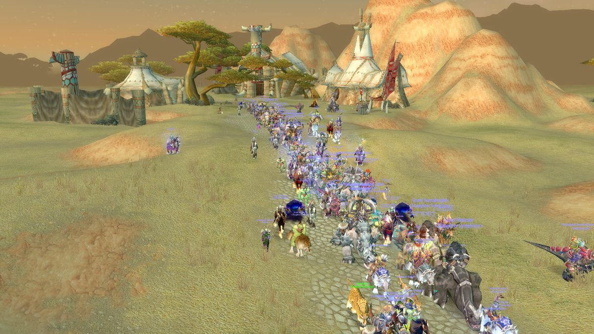 World of Warcraft fans bid farewell to largest legacy server