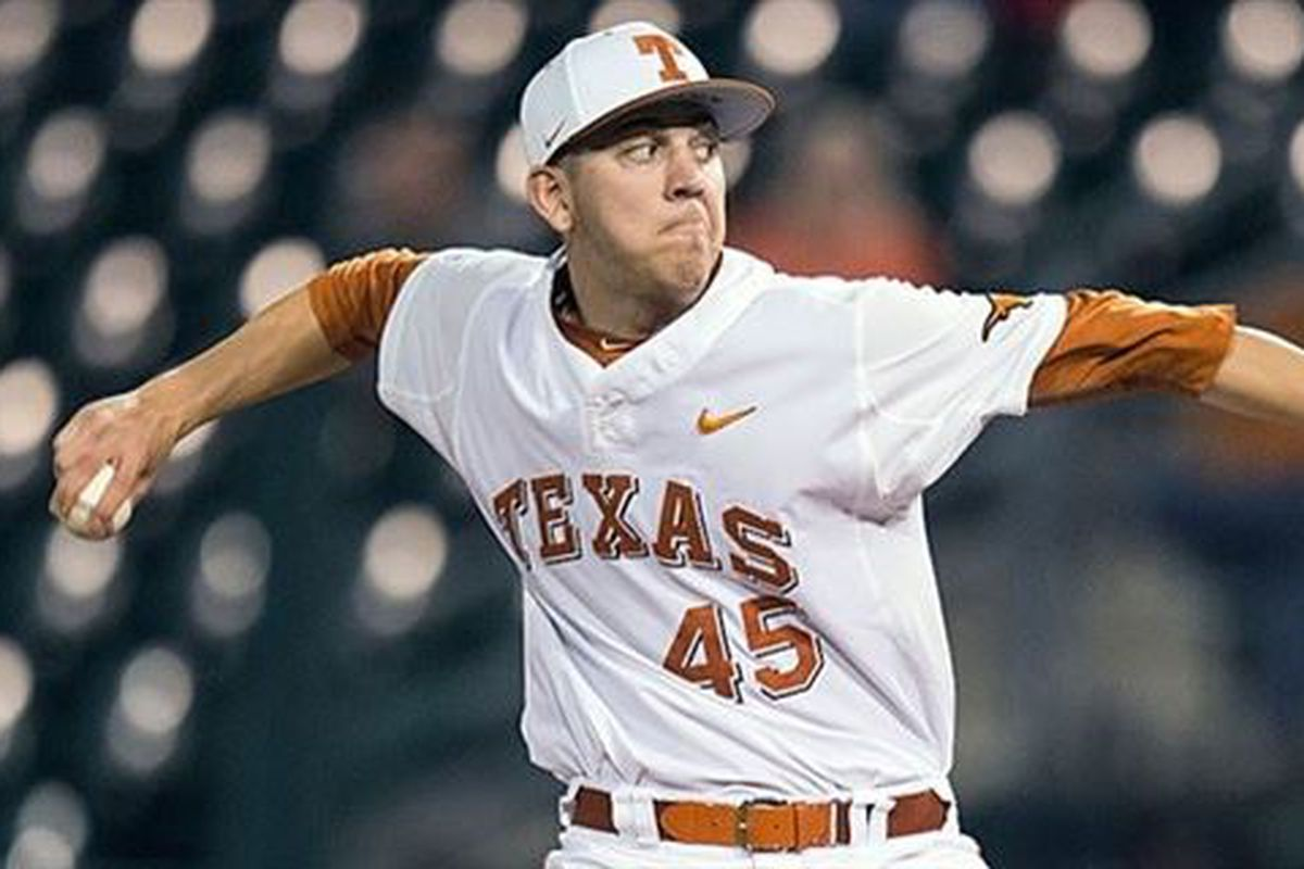 premium selection c7f11 19667 Nolan Kingham headlines strong Texas pitching unit in 2018 ...