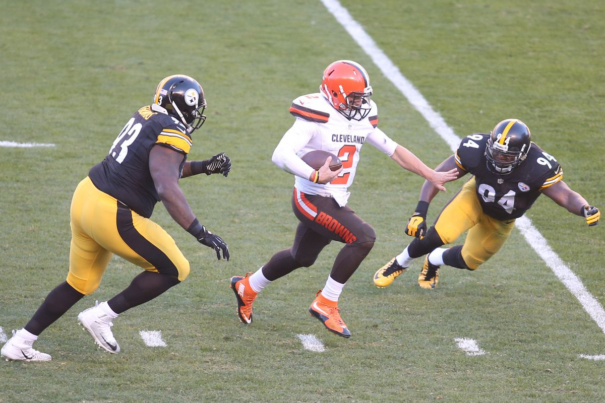 ce4817097ba Steelers Film Room  Pittsburgh pass rush terrorizes Browns QB Johnny Manziel