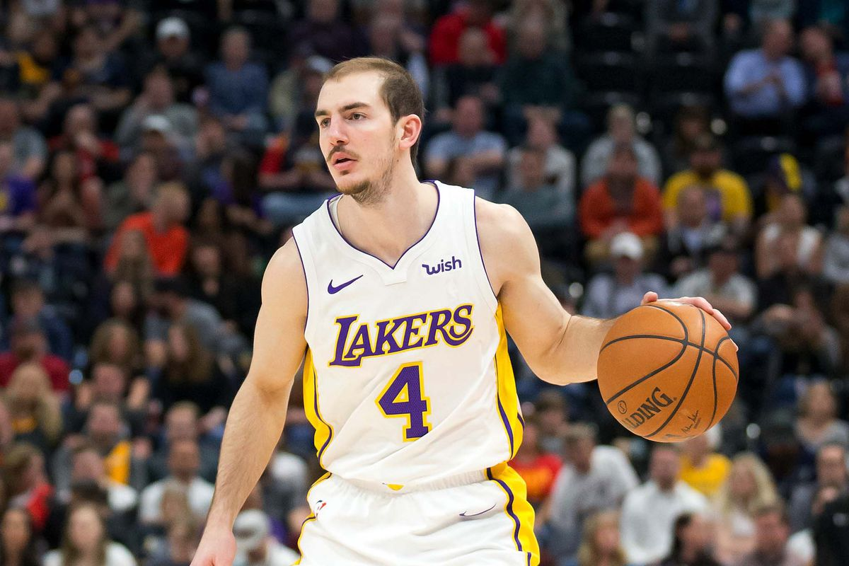 d024f6bcd Most Interesting Lakers No. 16  Alex Caruso finally has some competition at  backup point guard