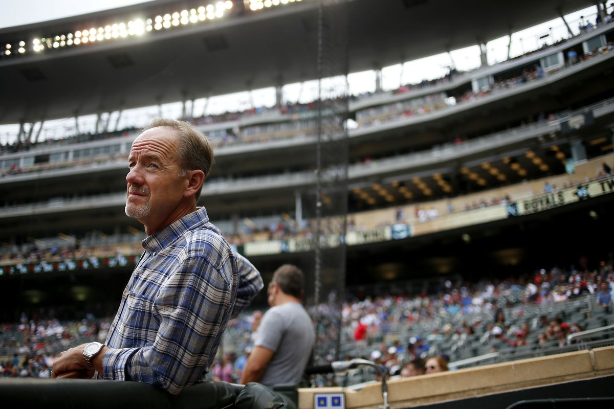 Minnesota Twins owner Jim Pohlad at Target Field Sunday August 17 , 2014 in Minneapolis MN . ] Jerry Holt Jerry.holt@startribune.com