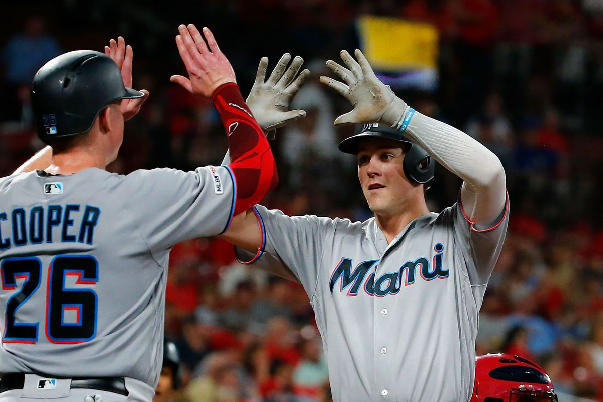 Brian Anderson, Garrett Cooper solidifying heart of Marlins lineup