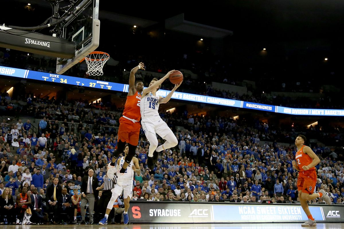 Duke Vs Syracuse Blue Devils Go To Elite Eight After Beat The