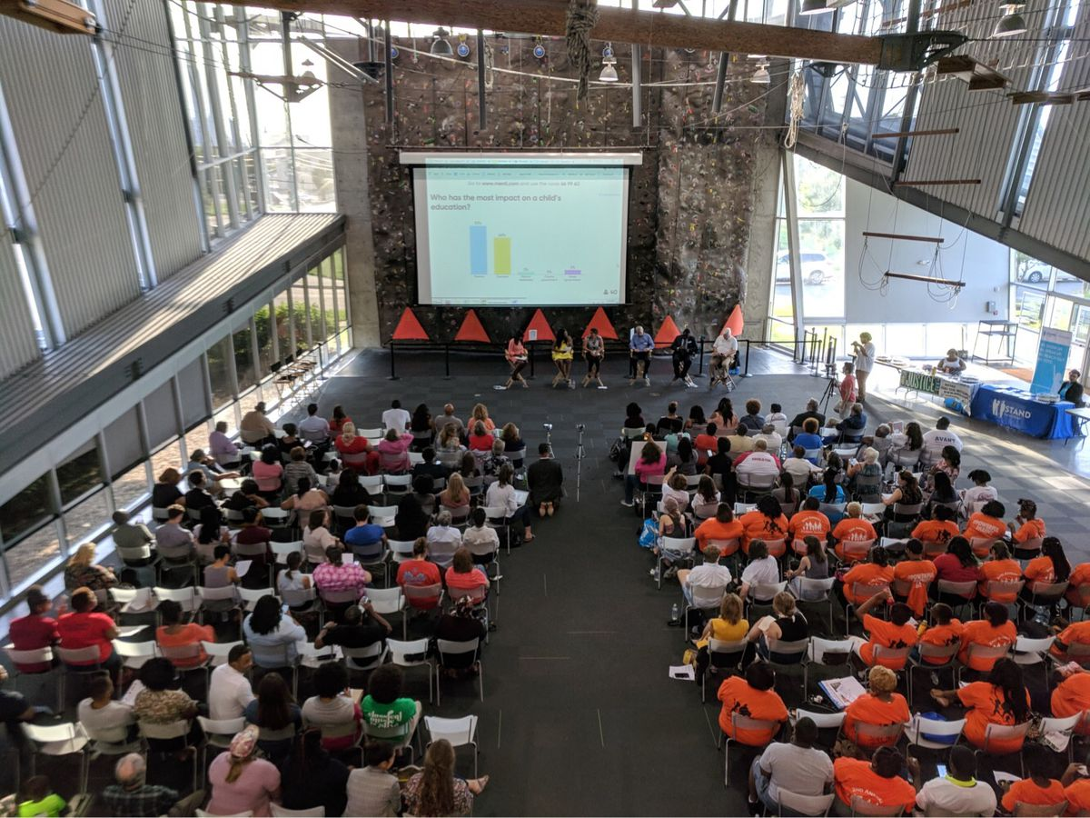 More than 200 people attended the forum.