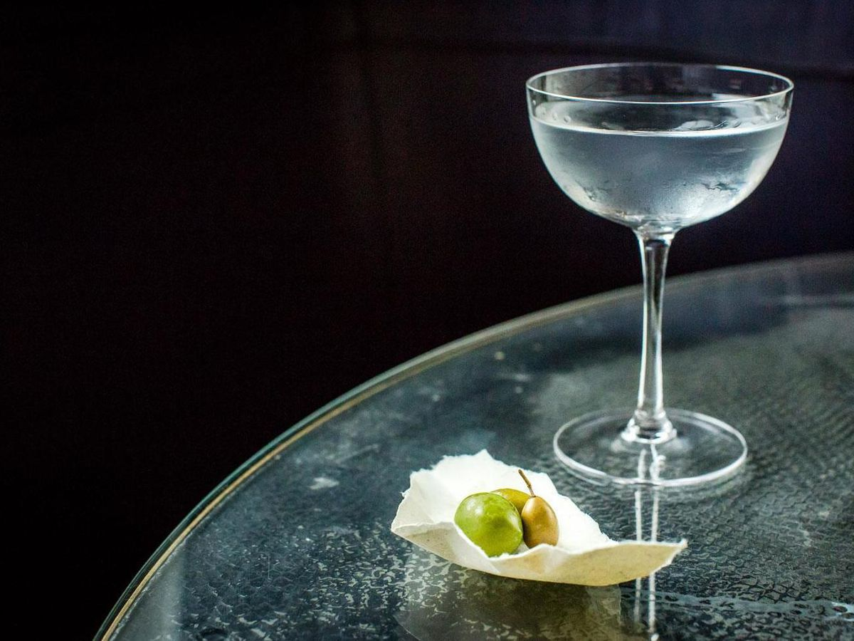 One of London's best martinis at the Langham