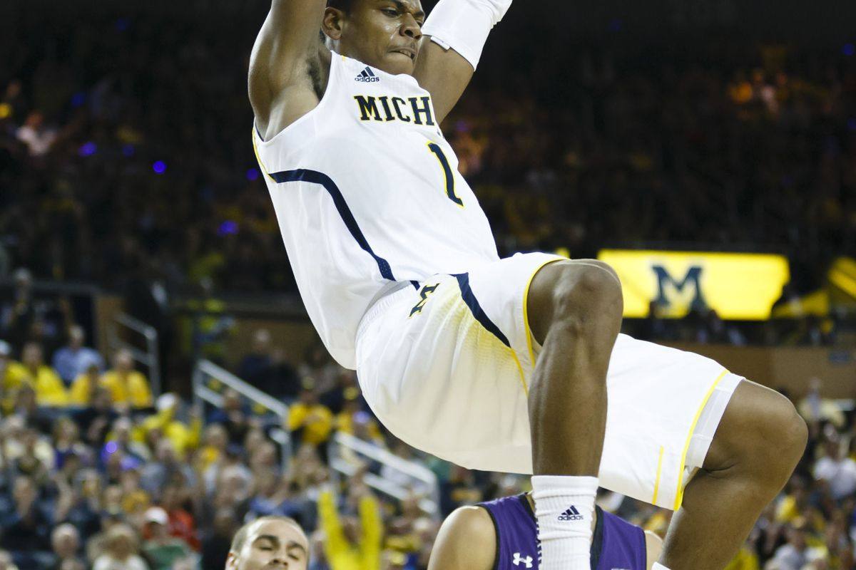Glenn Robinson III and Michigan will look to bounce back from a tough go at it in Assembly Hall.