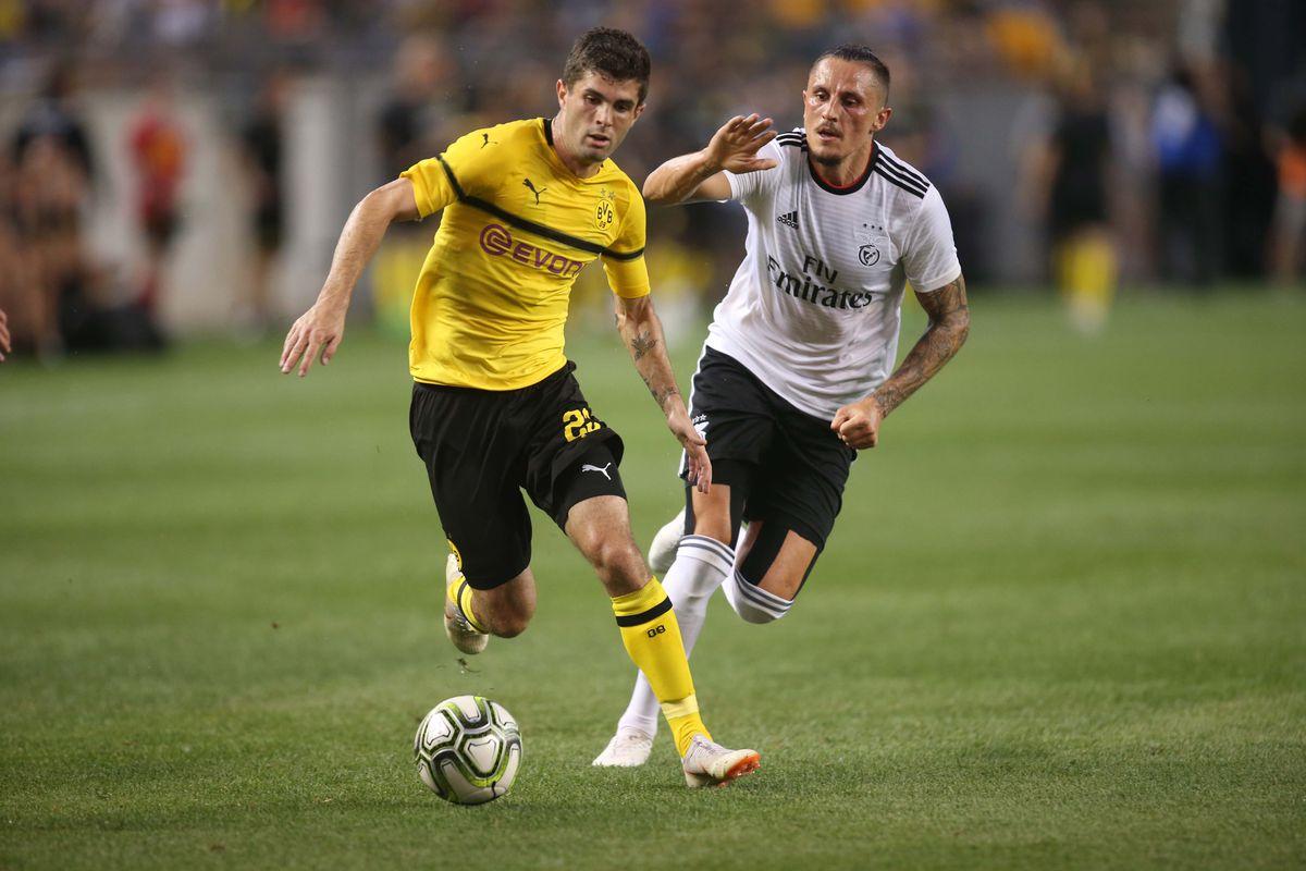 Soccer: International Champions Cup-Borussia Dortmund at Benfica