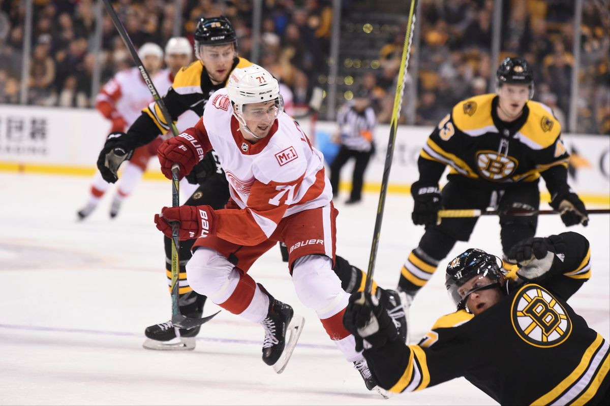 Detroit Red Wings v Boston Bruins