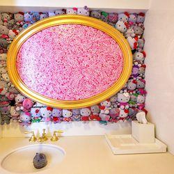 Bathroom one.