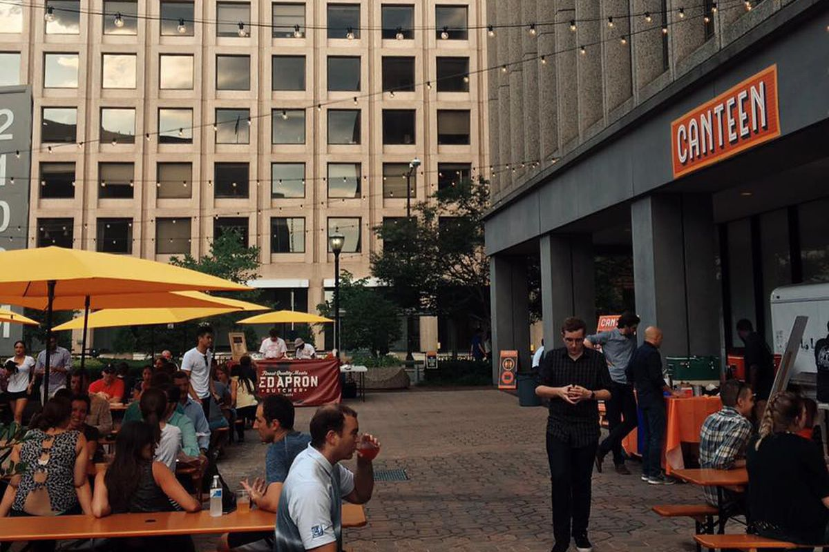 Pop Up Beer Garden Canteen Relocates To Shaw For The