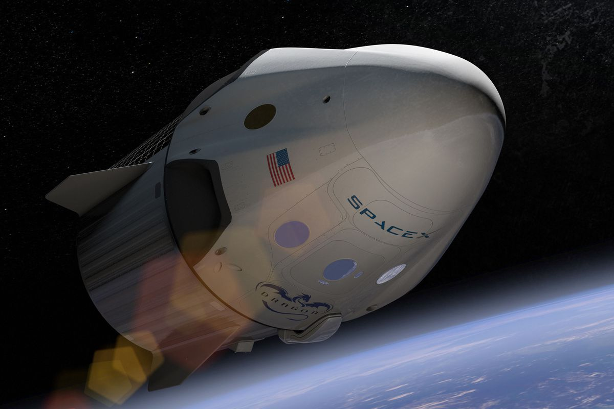 Image result for spacex crew dragon
