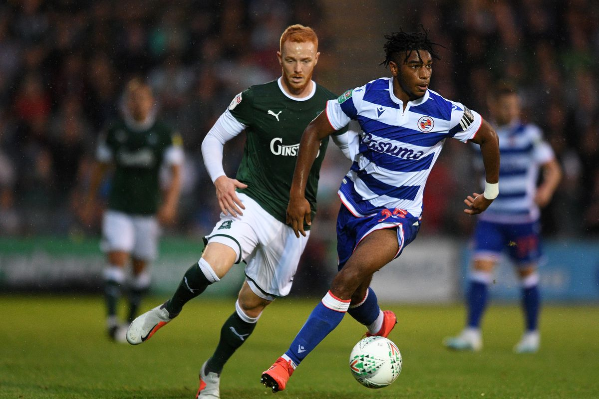 Plymouth Argyle v Reading - Carabao Cup Second Round