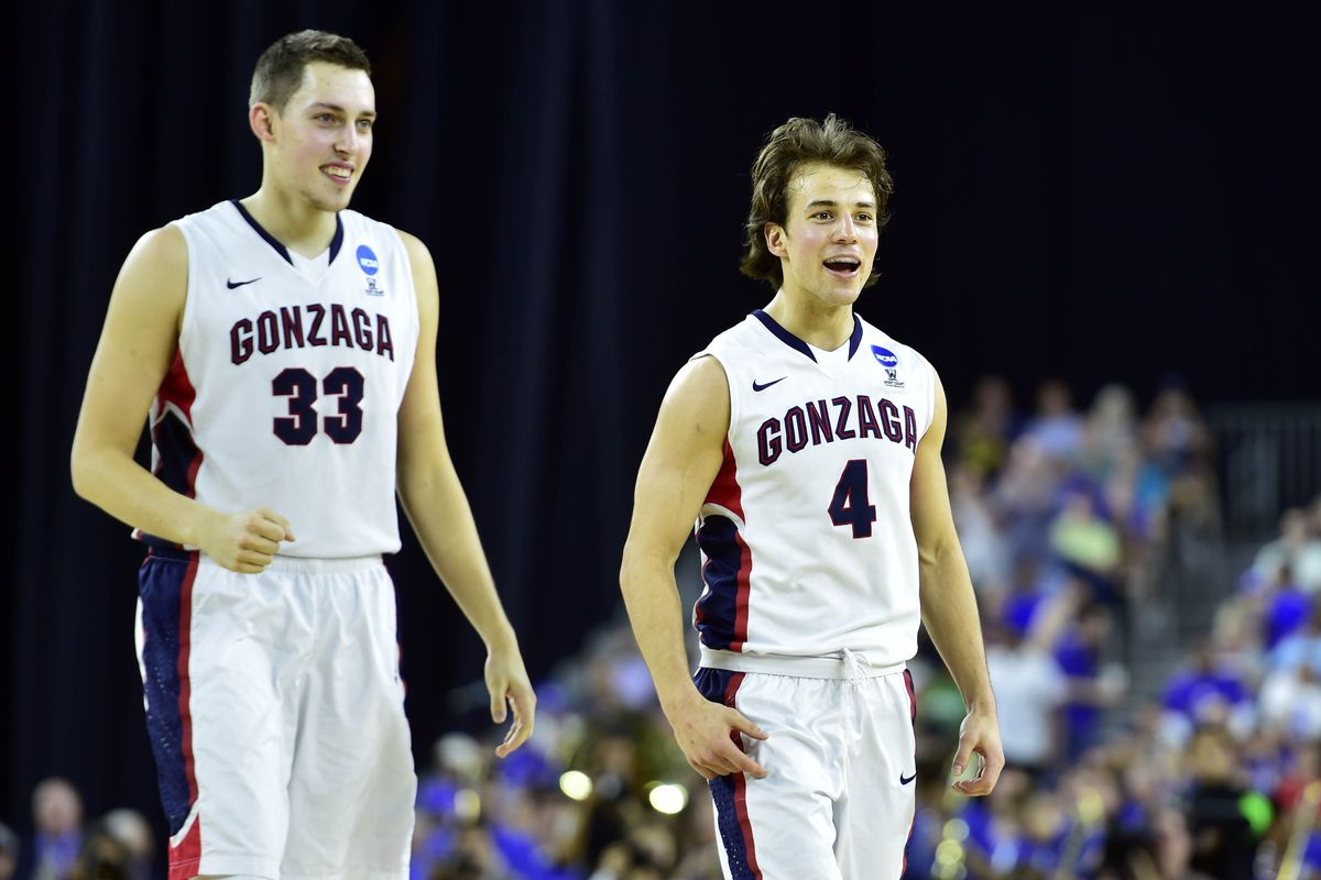 Kyle Wiltjer just found out that he's getting chocolate milk after the game.