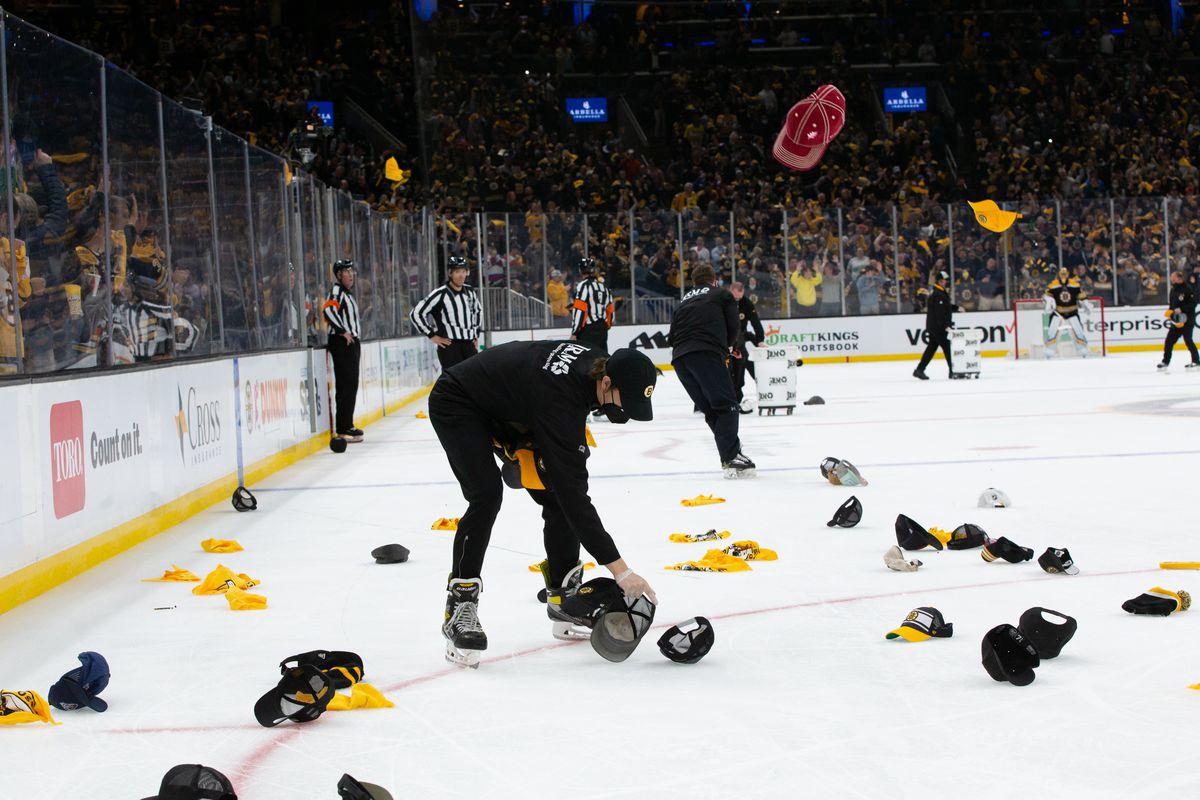 New York Islanders v Boston Bruins - Game One