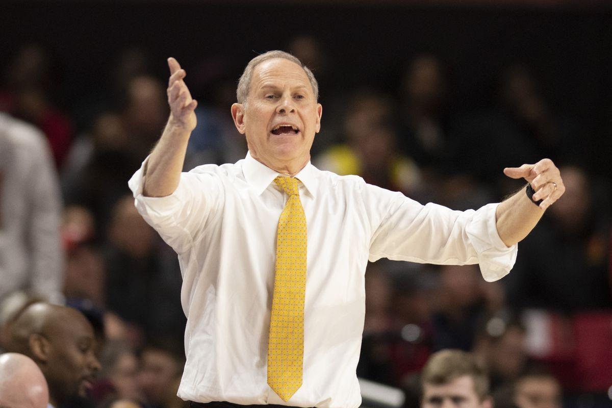 NCAA Basketball: Michigan at Maryland
