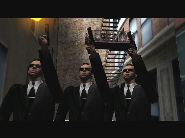 Enter the Matrix - Agent Smith clones shooting