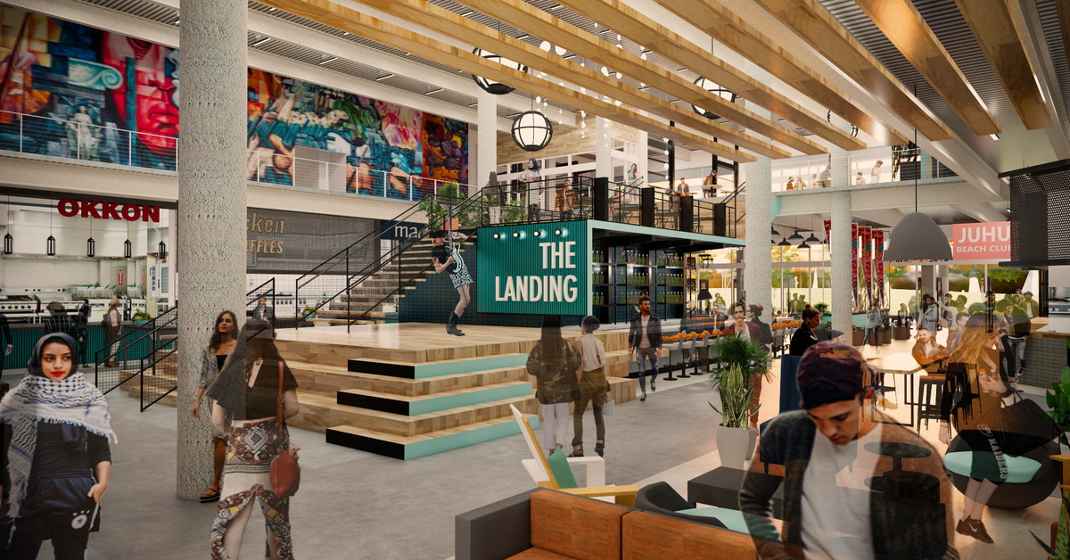 A Long-Awaited Food Hall Will Bring Star Chefs to Jack London Square This Summer
