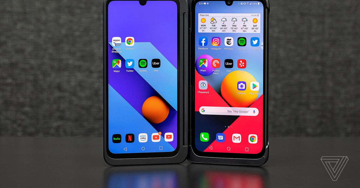 LG G8X Dual Screen review: better than you might ThinQ - The Verge thumbnail