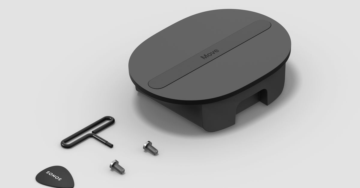 Sonos introduces $69 battery replacement kit for its Move wireless speaker