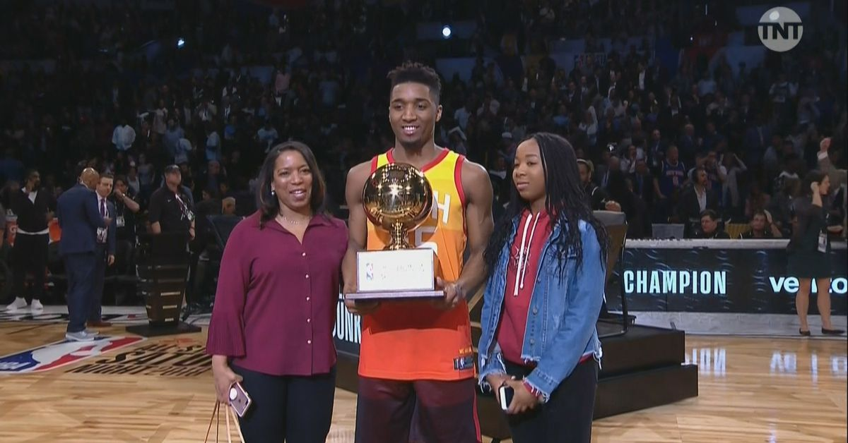 NBA Slam Dunk Contest 2018 recap: Donovan Mitchell tops Larry Nance Jr. in