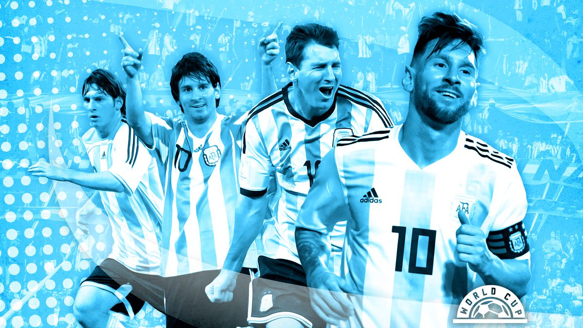 sports shoes 541fb 817f7 2018 World Cup: The History of Messi and Argentina vs ...