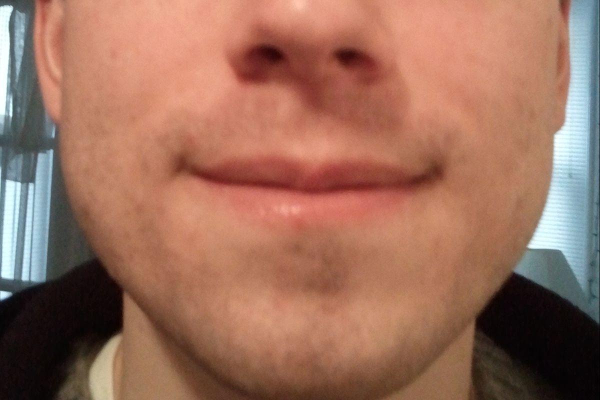 Playoff beard day 1