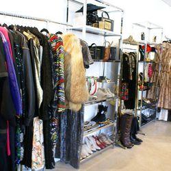 More vintage wonders at Marie's private showroom on West Third Street.