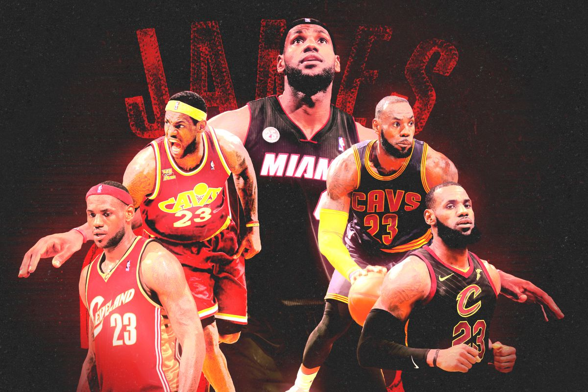 best authentic 16207 8dfa6 Ranking the Five Best 20-Game Stretches of LeBron James's ...