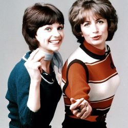 """Cindy Williams and Penny Marshall in """"Laverne & Shirley."""""""