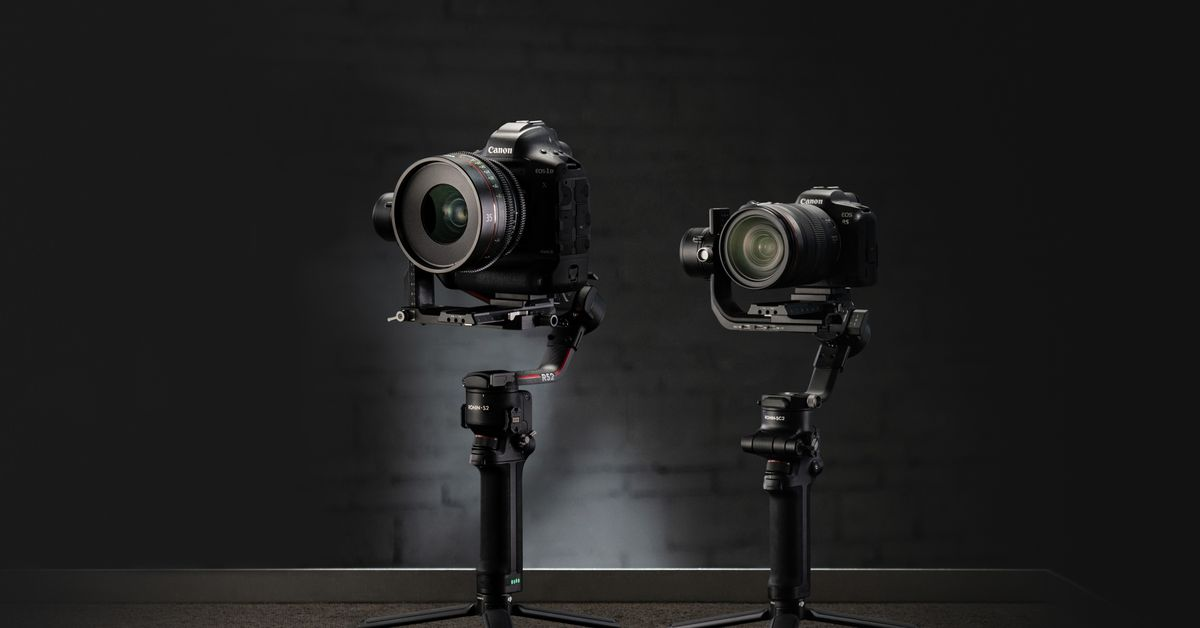 DJI announces Ronin S 2 and Ronin SC 2 gimbals – The Verge