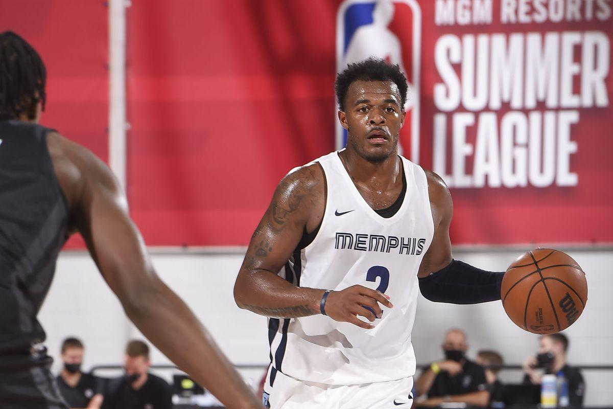 2021 Las Vegas Summer League - Brooklyn Nets v Memphis Grizzlies