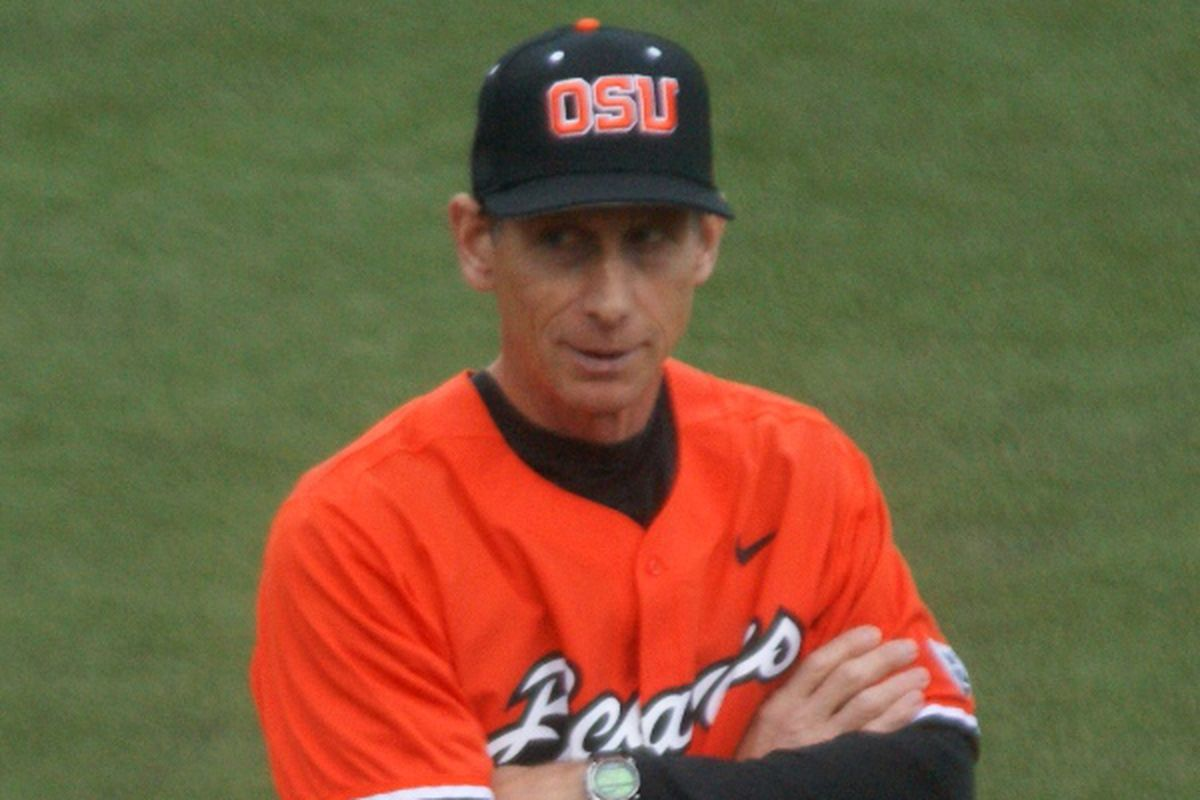 Pat Casey's the only contributor from today that we have a picture of in a Beavers uniform.