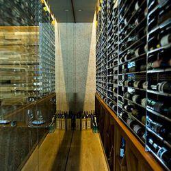 Roka Akor's extensive wine and sake room