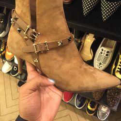 Valentino booties, $687.50