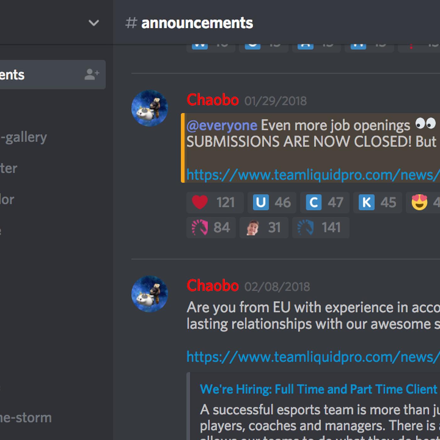 Discord expands its verified servers program to include pro e-sports