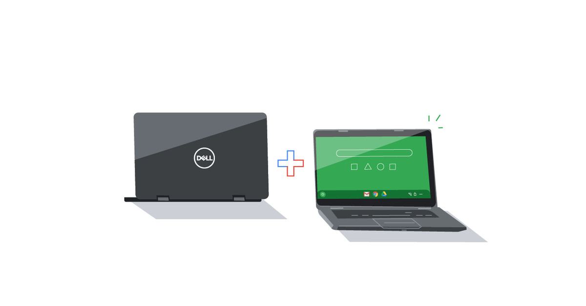 Google and Dell take on Microsoft with Chromebook Enterprise laptops
