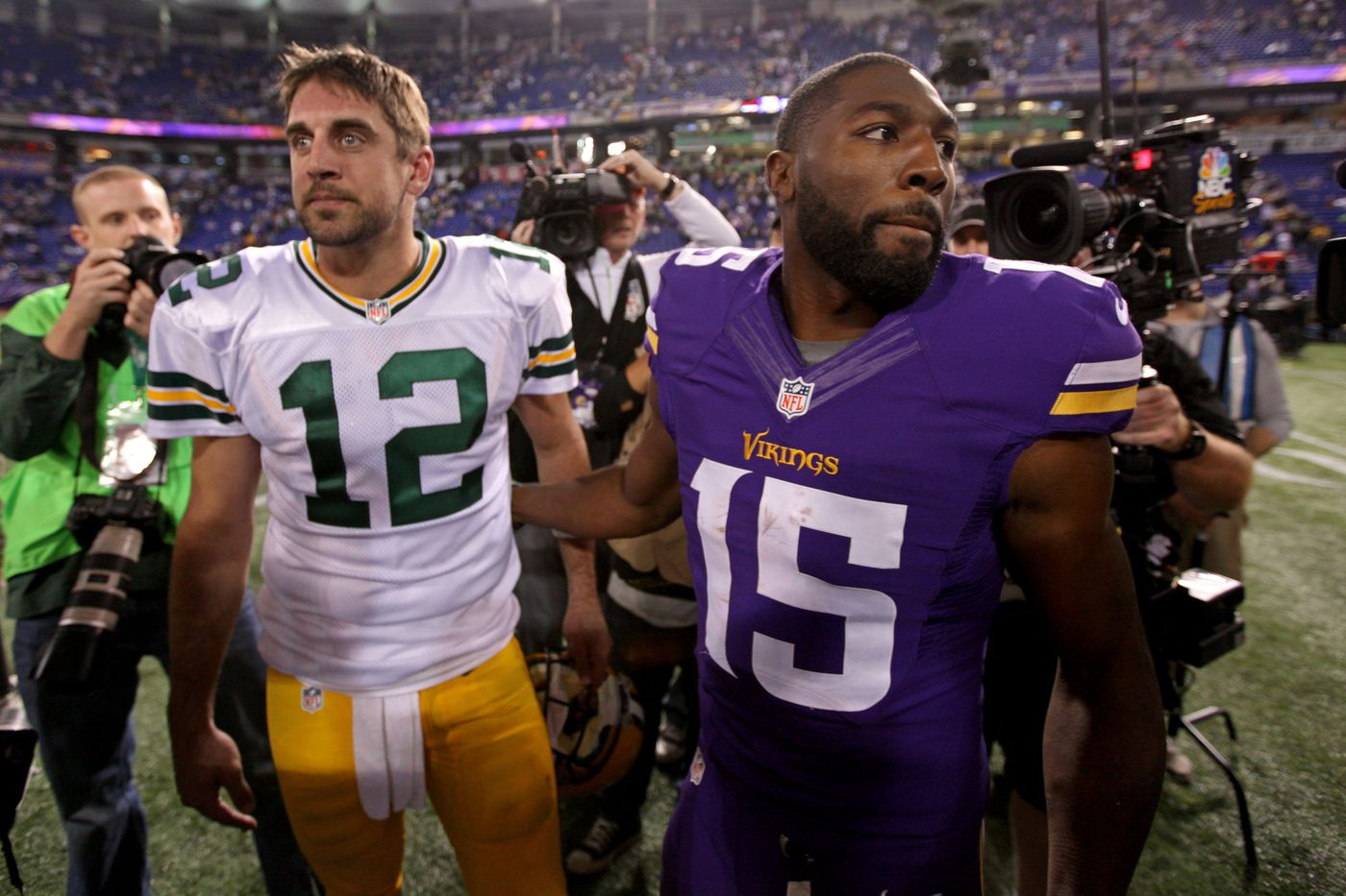 Greg Jennings has come a long way since his days with the Packers ...