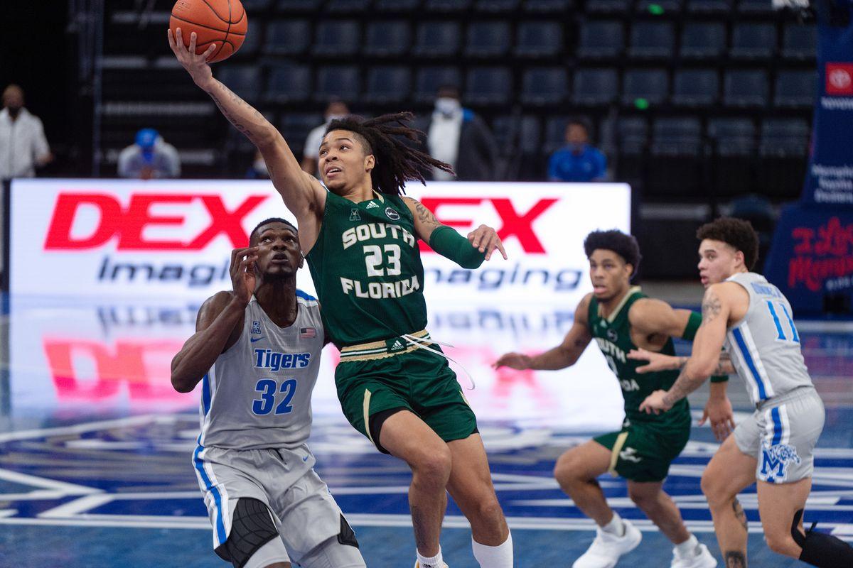 NCAA Basketball: South Florida at Memphis