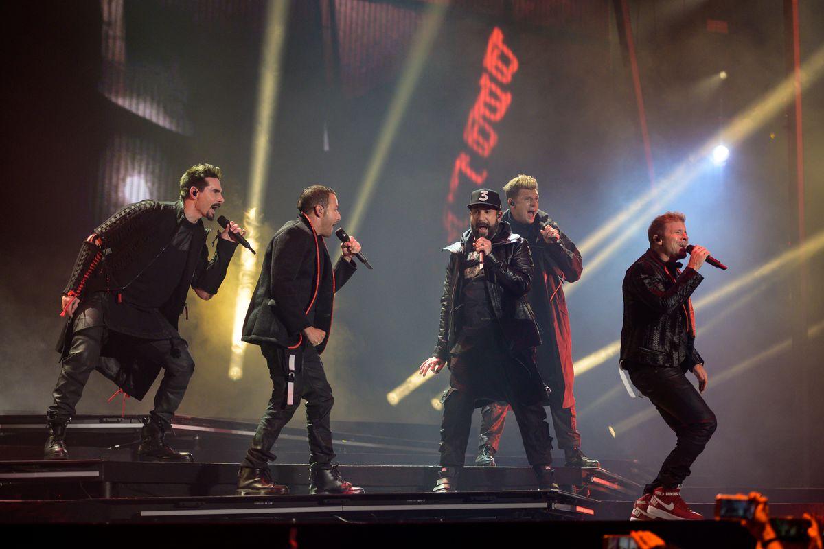 Backstreet Boys Perform In Concert In Lisbon