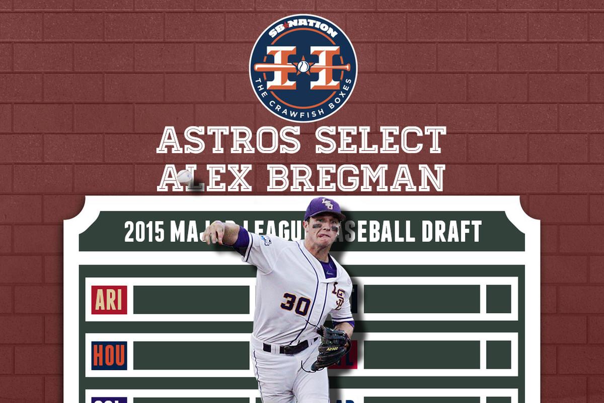 online retailer 8461a e346e 2015 MLB Draft: Astros select shortstop Alex Bregman second ...