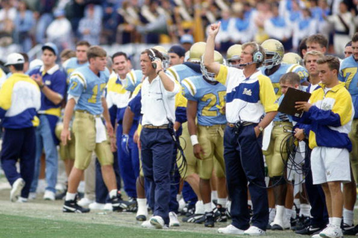 UCLA's Next Head Coach Should Have No Prior Ties To UCLA Football. - BruinsNation. Photo Credit: J.D. Cuban/ALLSPORT