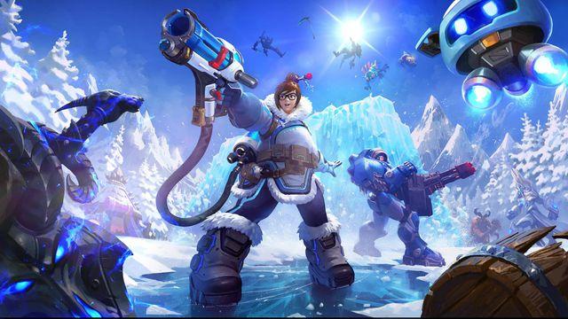 Mei Heroes of the Storm key art