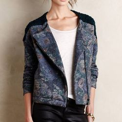 """<b>Anna Studio</b> moto jacket, <a href=""""http://www.anthropologie.com/anthro/product/shopsale-freshcuts-clothing/4114348270001.jsp#/"""">$90</a> (from $248)"""