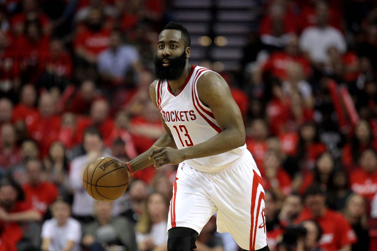 ad37b2fc3301 NBA playoff scores 2017  James Harden overtakes Russell Westbrook in 4th  quarter