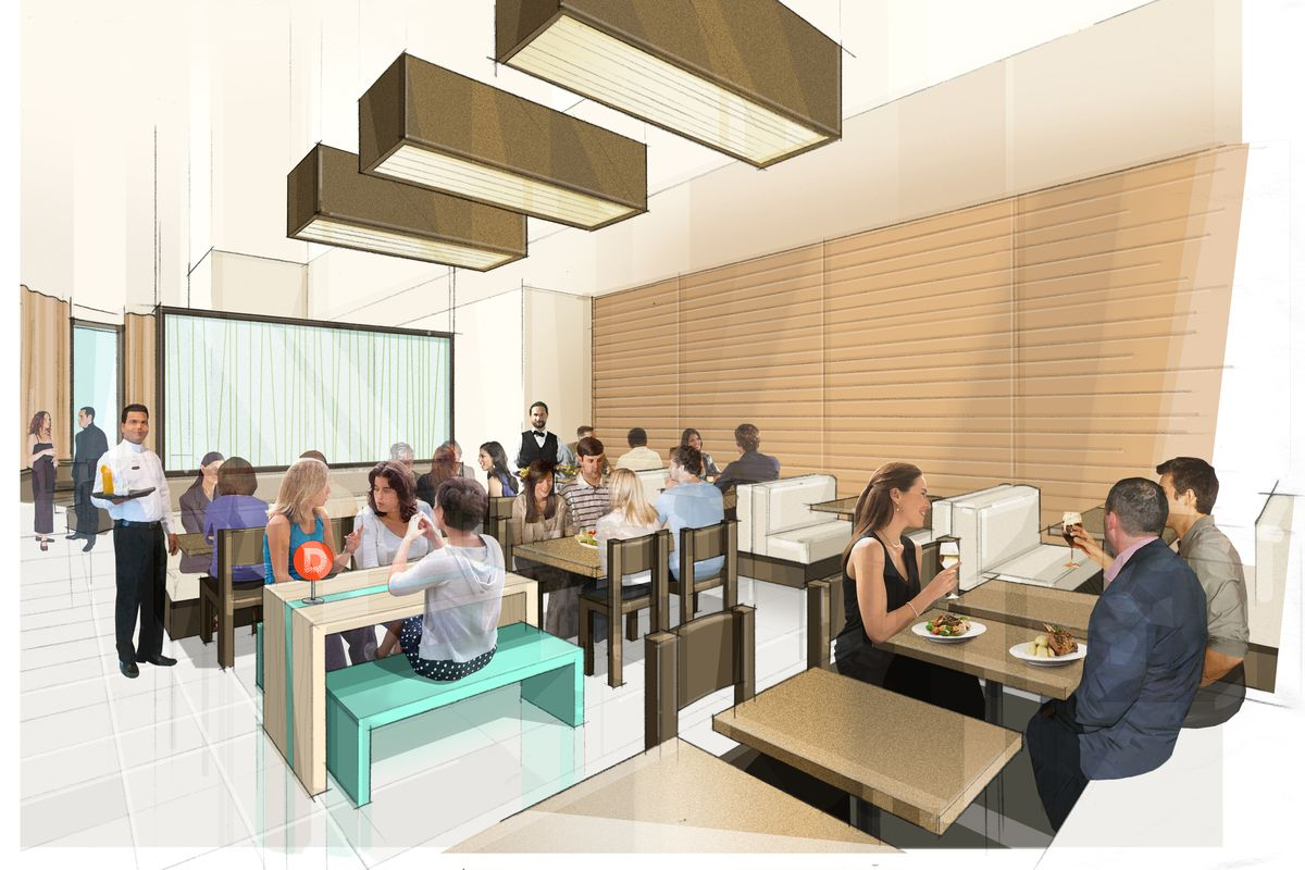 Design museum boston looks at dining downtown