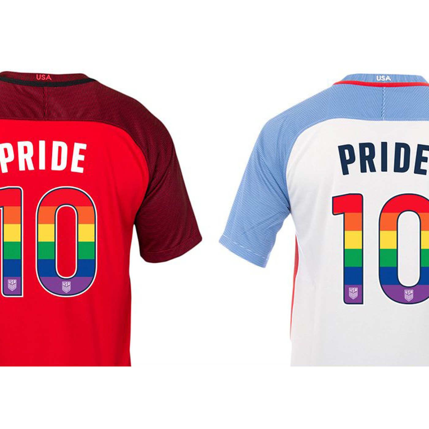 more photos 504f8 f89e3 U.S. Soccer to wear rainbow jersey numbers in upcoming USMNT ...